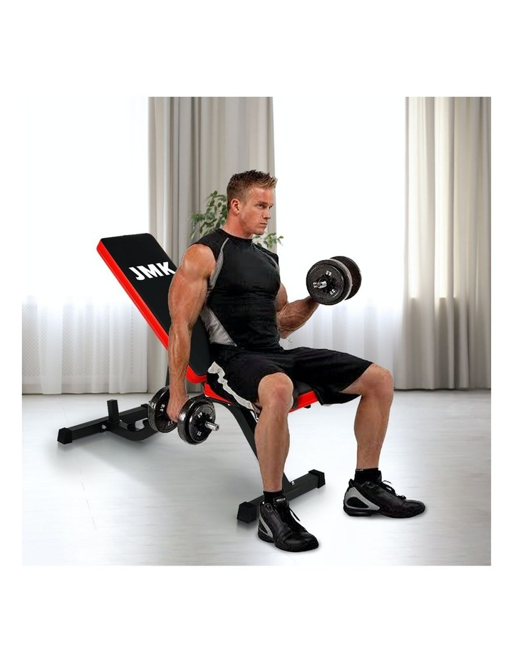 Adjustable Flat Incline Decline Home Gym Weight Bench image 6