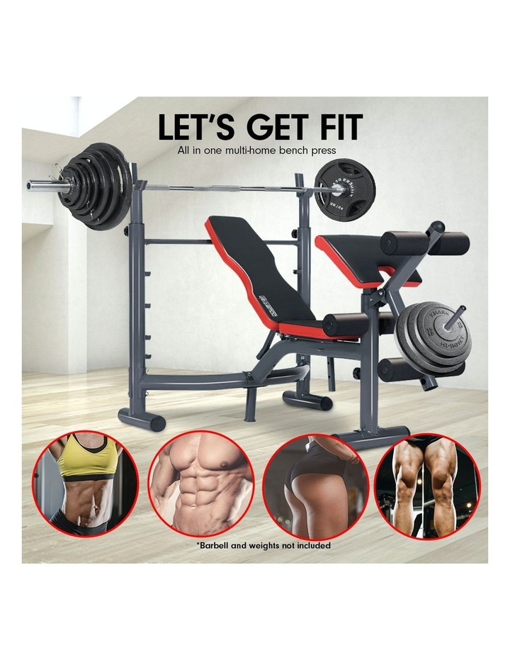 Bench Press Home Gym Situp Abs Decline Exercise Incline Weight Flat image 2