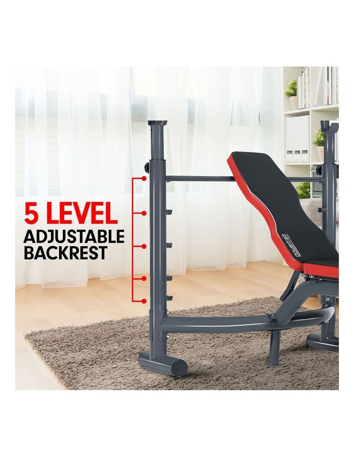 Bench Press Home Gym Situp Abs Decline Exercise Incline Weight Flat image 4