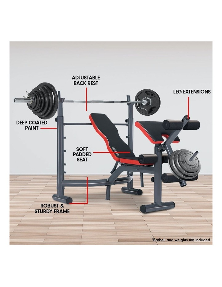 Bench Press Home Gym Situp Abs Decline Exercise Incline Weight Flat image 6
