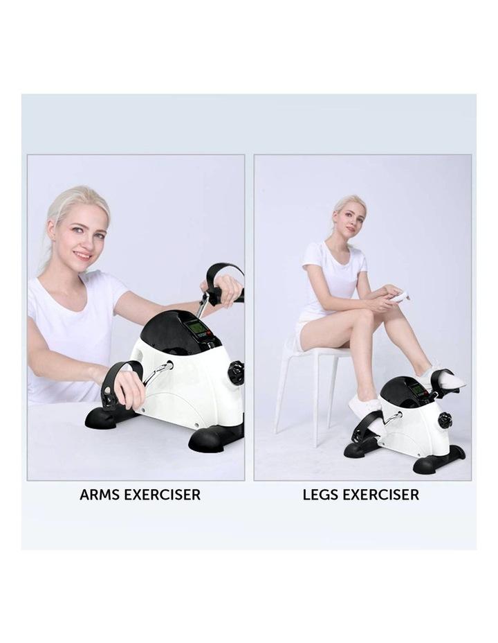 Mini Arms and Legs Exercise Bike White image 2