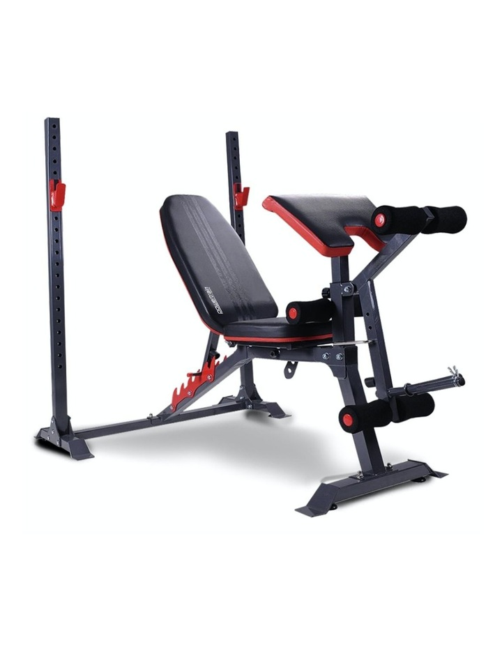 Bench Press Home Gym Situp Abs Exercise Incline Weight Decline Flat image 1