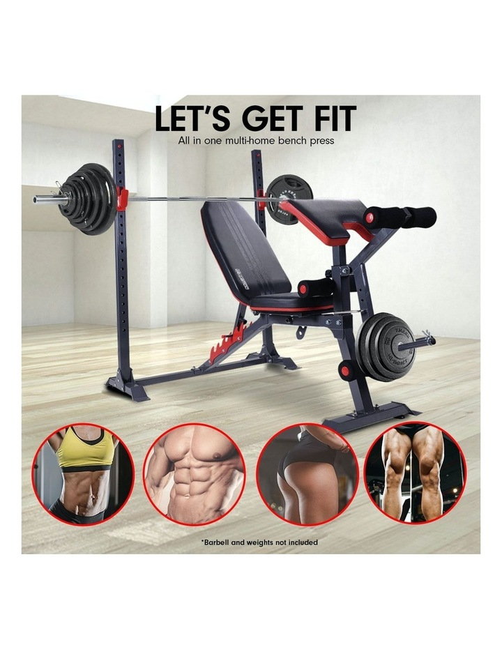 Bench Press Home Gym Situp Abs Exercise Incline Weight Decline Flat image 2
