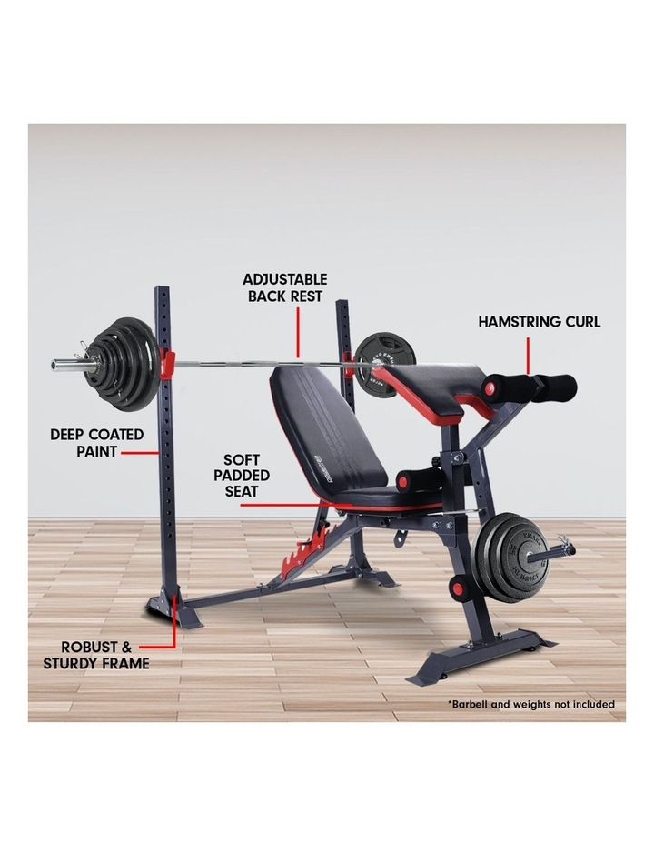 Bench Press Home Gym Situp Abs Exercise Incline Weight Decline Flat image 3