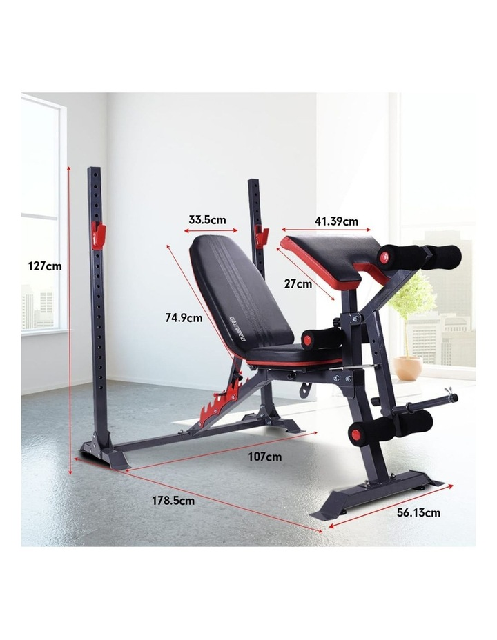 Bench Press Home Gym Situp Abs Exercise Incline Weight Decline Flat image 7