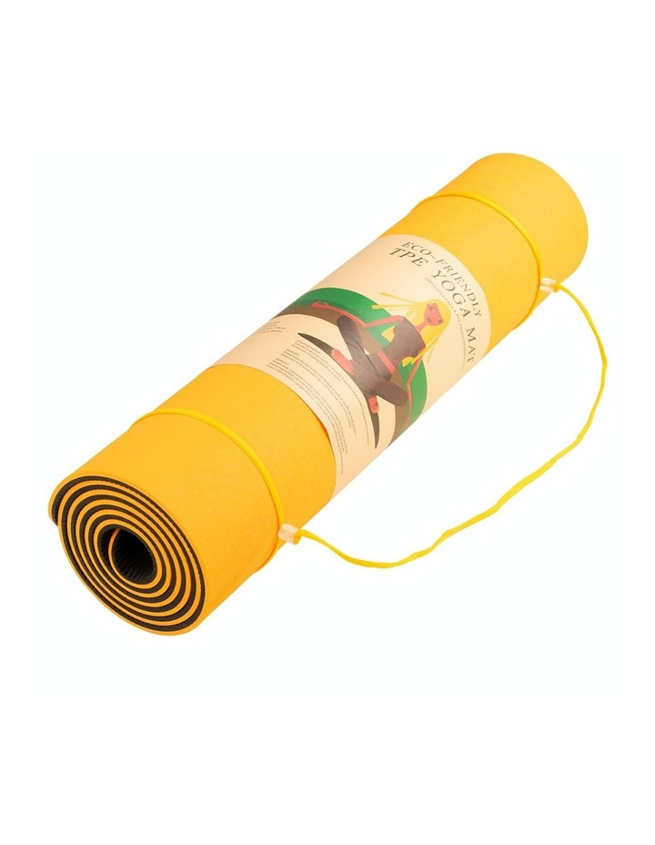 TPE Yoga Exercise Mat Eco Friendly Home Gym Pilates Floor Fitness 8mm Thick image 4