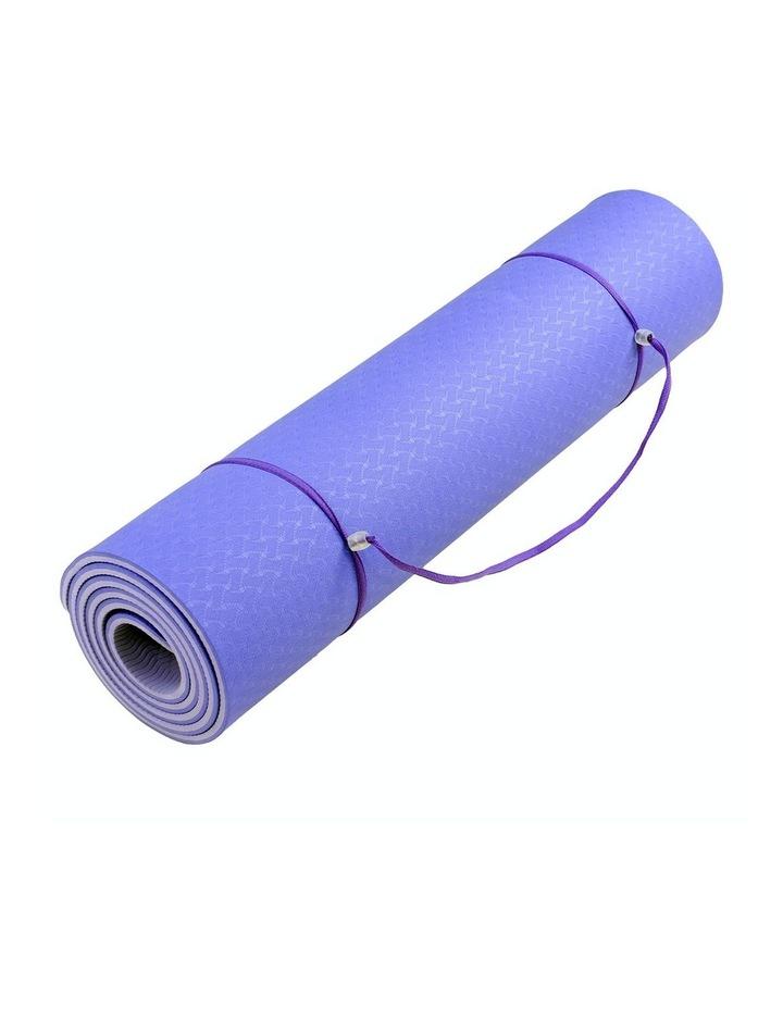 8mm Eco-Friendly Yoga & Pilates Green Exercise Mat image 5
