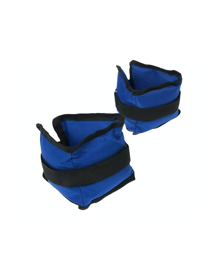 2x 1kg Ankle Weights Home Gym Equipment Wrist Fitness Yoga Training Weights image 1