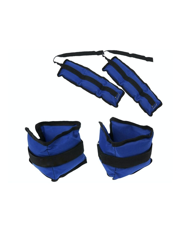 2x 1kg Ankle Weights Home Gym Equipment Wrist Fitness Yoga Training Weights image 3