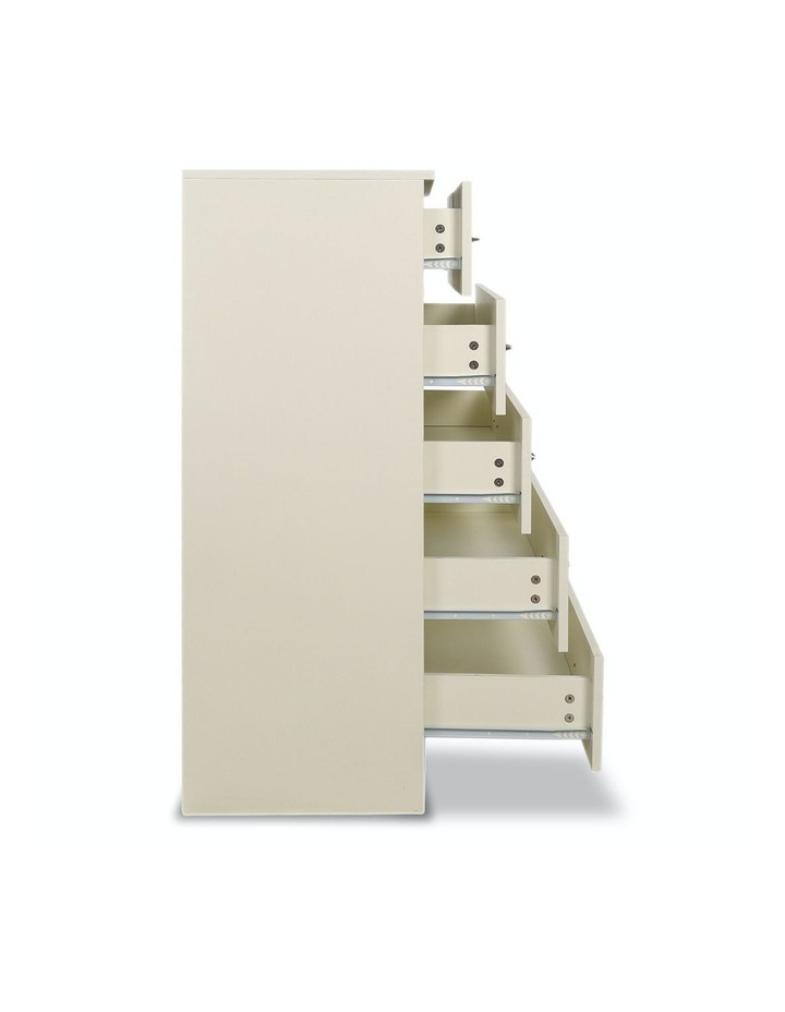 Tallboy Dresser 6 Chest of Drawers Storage Cabinet 85 x 39.5 x 105cm image 6