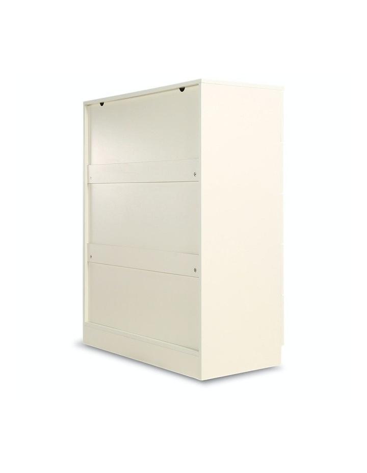 Tallboy Dresser 6 Chest of Drawers Storage Cabinet 85 x 39.5 x 105cm image 7