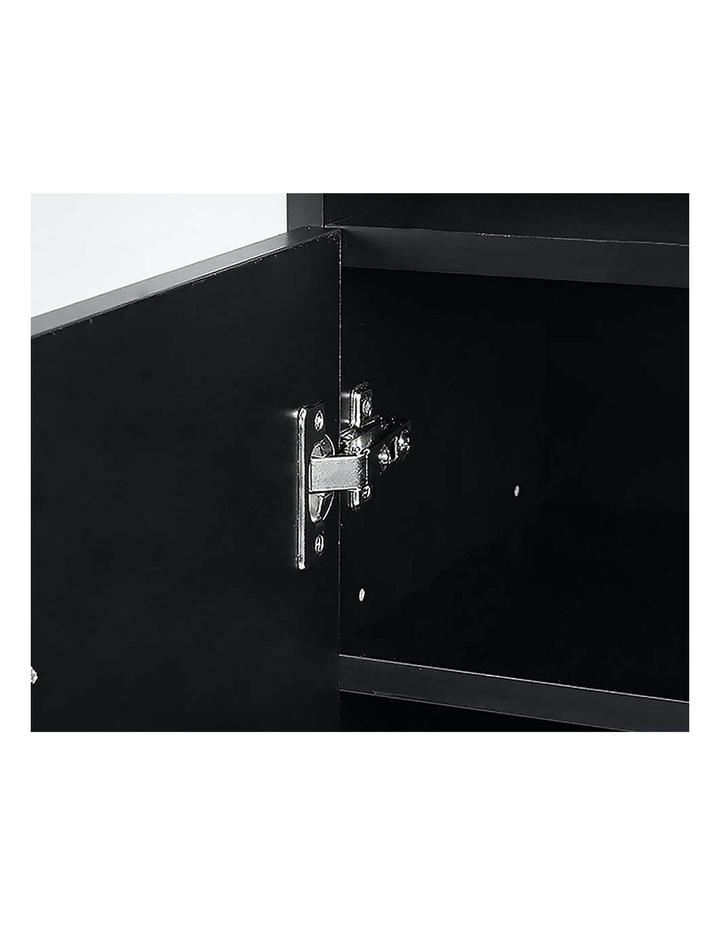 Shoe Cabinet Rack Storage Organiser - 80 x 30 x 90cm - Black image 2