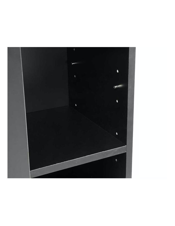 Shoe Cabinet Rack Storage Organiser - 80 x 30 x 90cm - Black image 3