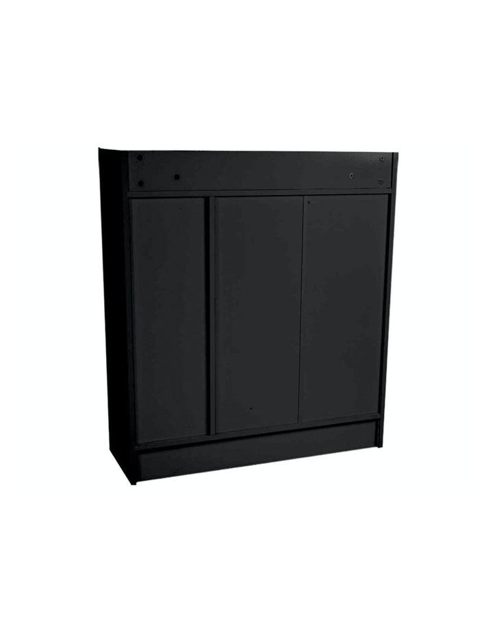 Shoe Cabinet Rack Storage Organiser - 80 x 30 x 90cm - Black image 4