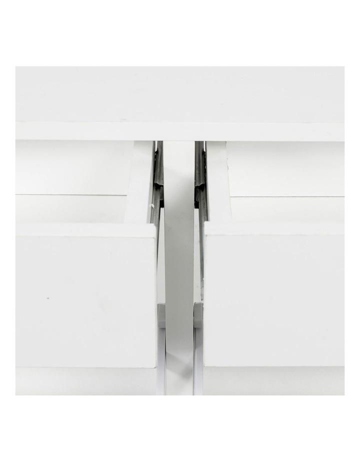 Shoe Cabinet Organizer Storage Rack 1200 x 240 x 920 - White image 4