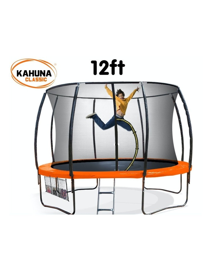 12 ft Round Trampoline Outdoor Kids with Safety Enclosure Net image 2