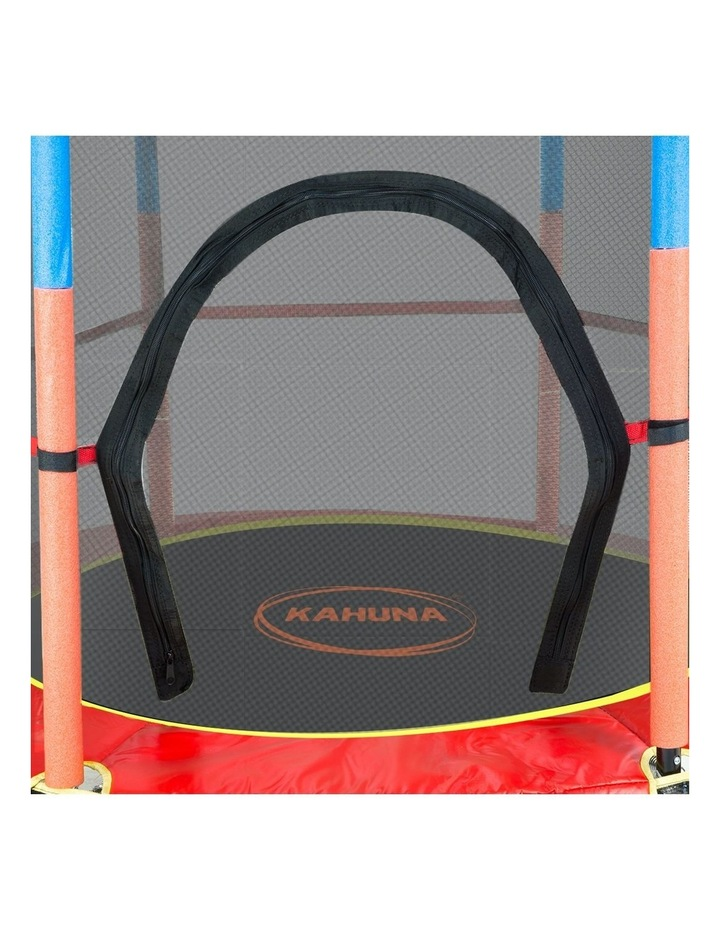 4.5ft Trampoline Round Free Safety Net Spring Pad Cover Mat Outdoor image 7