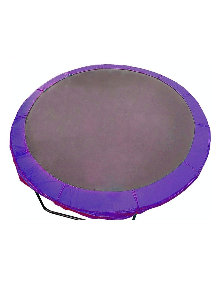 Replacement Trampoline Pad Outdoor Round Spring Cover Purple 8 Ft Purple image 1