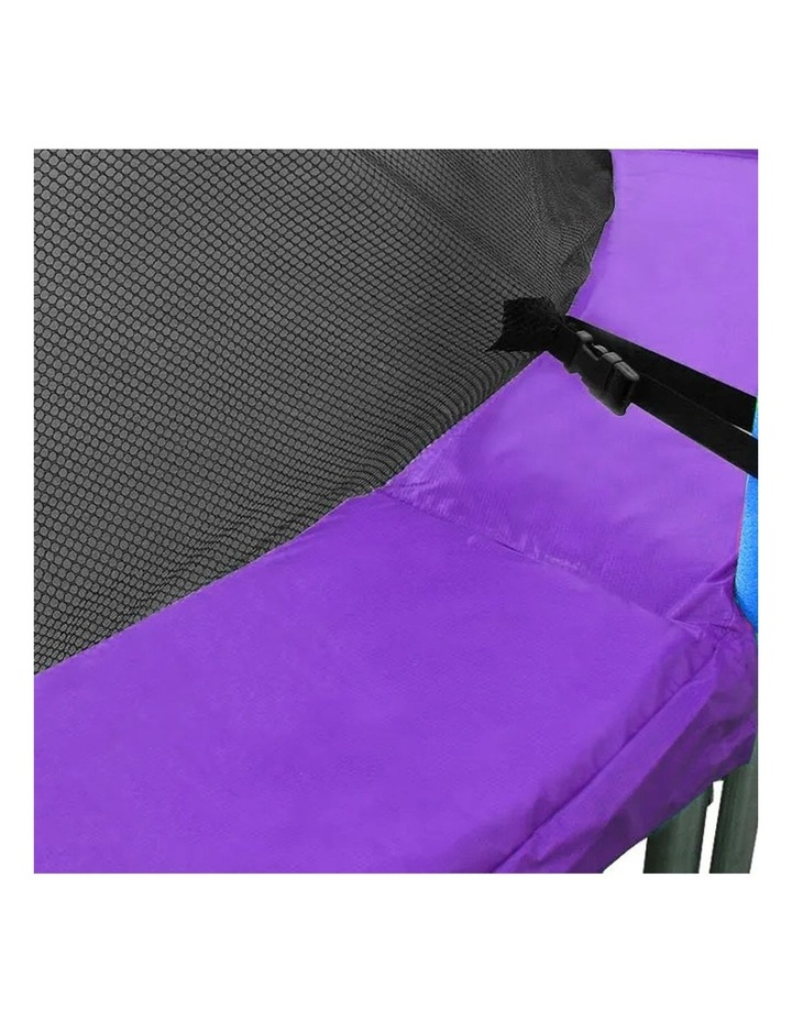 Replacement Trampoline Pad Outdoor Round Spring Cover Purple 8 Ft Purple image 2