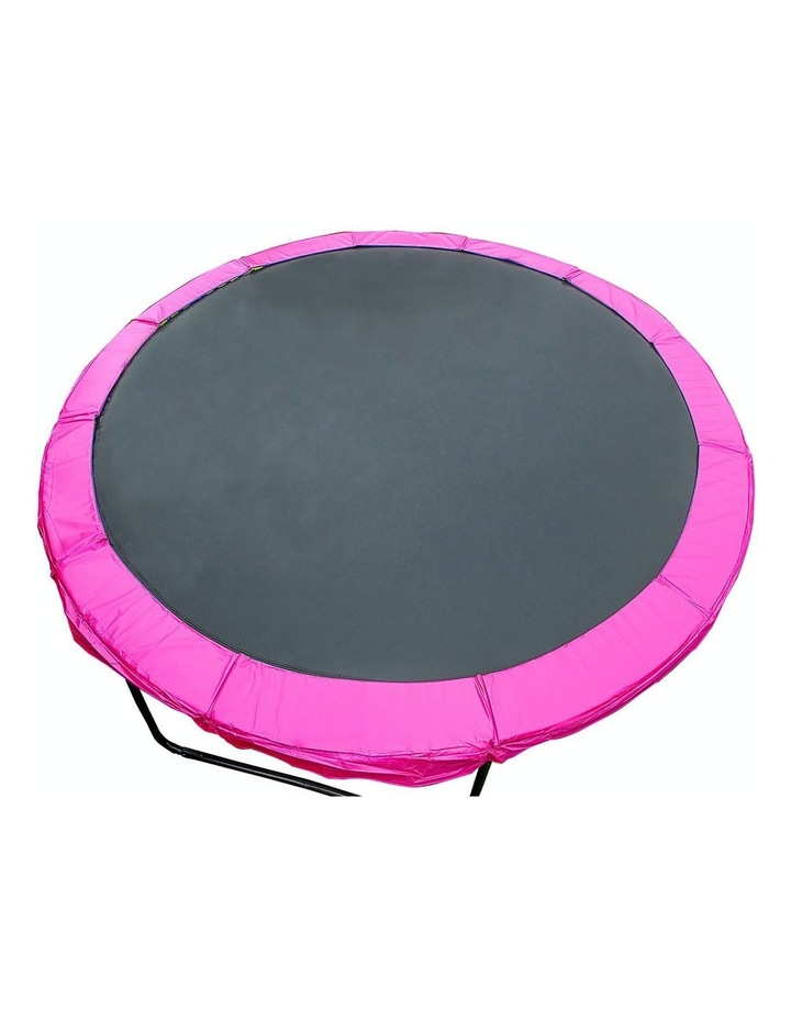 Pink 16ft Replacement Reinforced Outdoor Round Trampoline Spring Pad Cover image 1