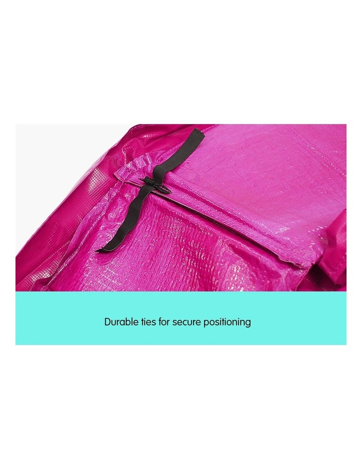 Pink 14ft Replacement Reinforced Outdoor Round Trampoline Spring Pad Cover image 7