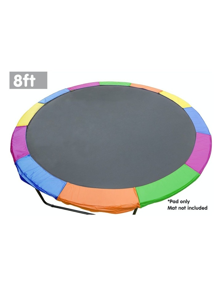 Replacement Kahuna Trampoline Pad Reinforced Outdoor Round Spring Cover 8ft image 2
