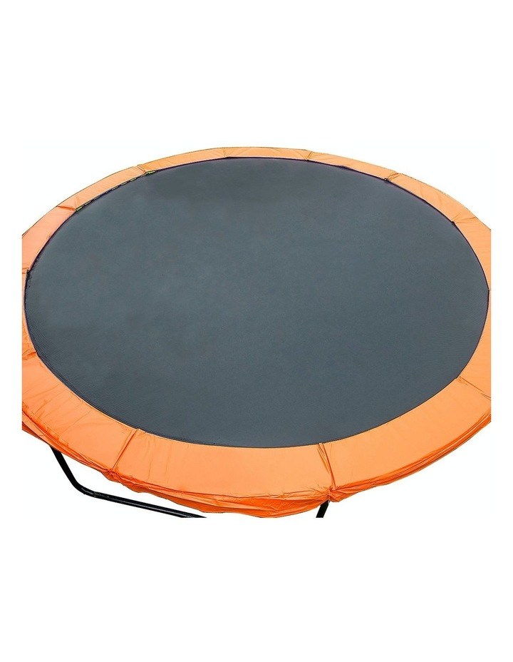Replacement Trampoline Pad Reinforced Outdoor Round Spring Cover 8ft- Orange/Blue image 1