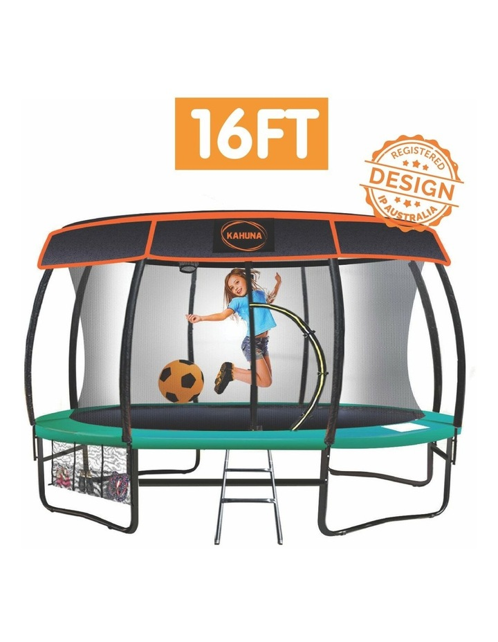 Kids Safety Round Outdoor Removable Trampoline Roof  Uv Protection - 16ft image 2