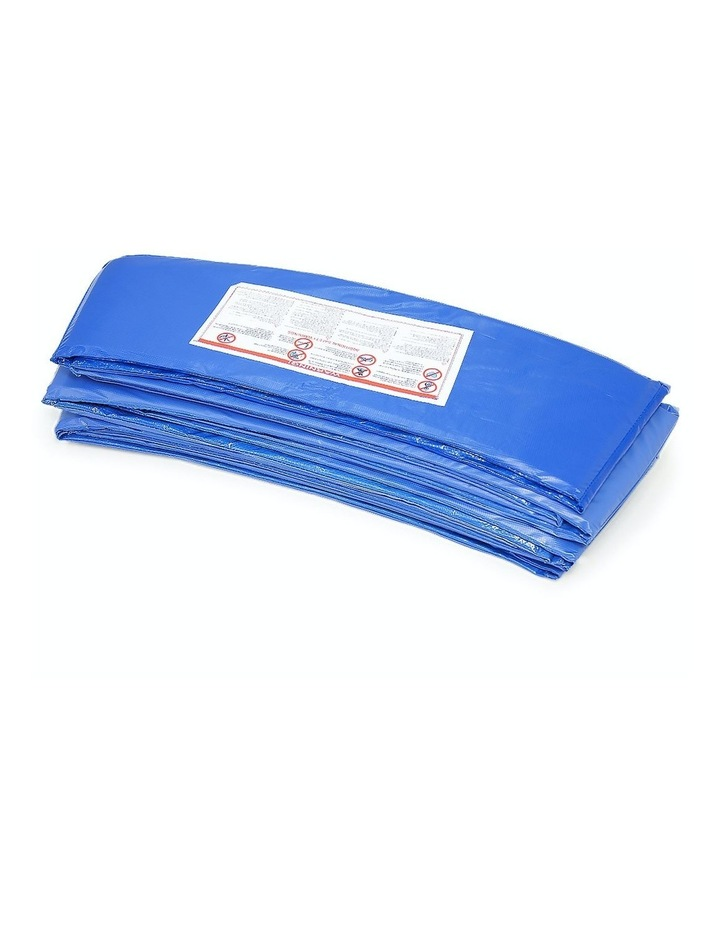 13ft Outdoor Trampoline Safety Spring Pad Cover Round - Blue image 4