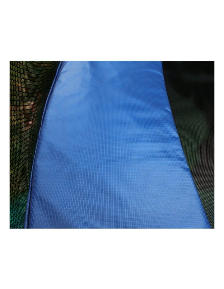 8ft Replacement Reinforced Outdoor Round Trampoline Safety Spring Pad Cover- Blue image 3