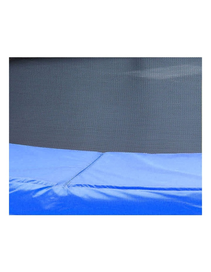 8ft Replacement Reinforced Outdoor Round Trampoline Safety Spring Pad Cover- Blue image 6