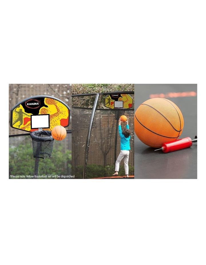 Trampoline Basketball Hoop Ring Backboard Pump Set Ball Kit image 3