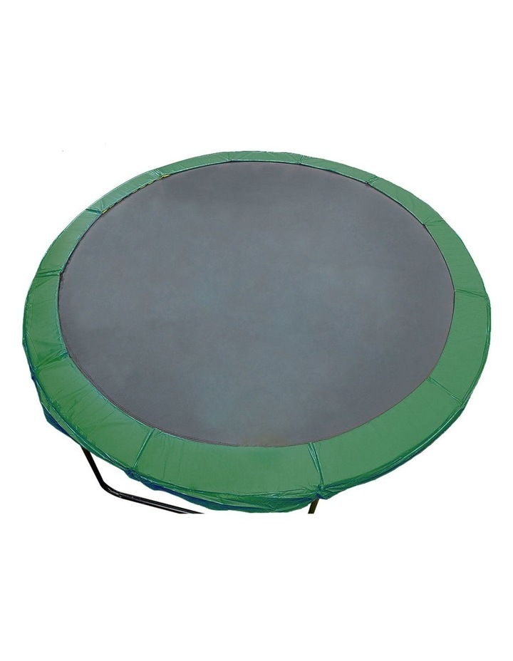 Green 16ft  Replacement Reinforced Outdoor Round Trampoline Spring Pad Cover image 1
