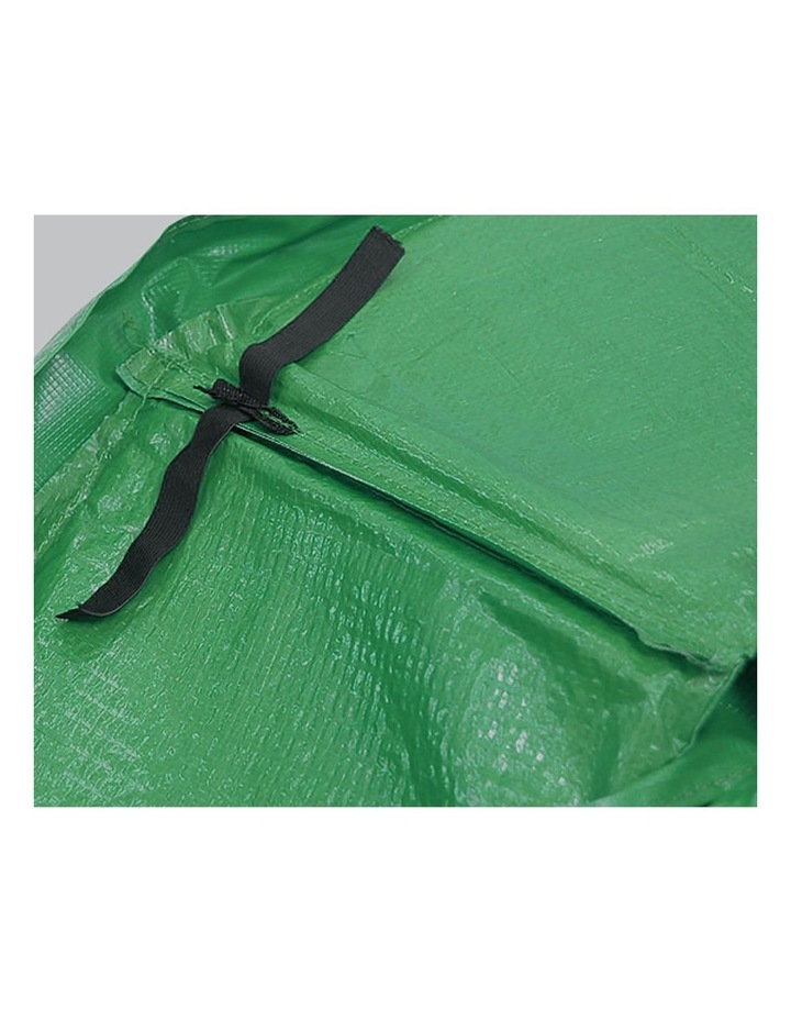 Green 16ft  Replacement Reinforced Outdoor Round Trampoline Spring Pad Cover image 5