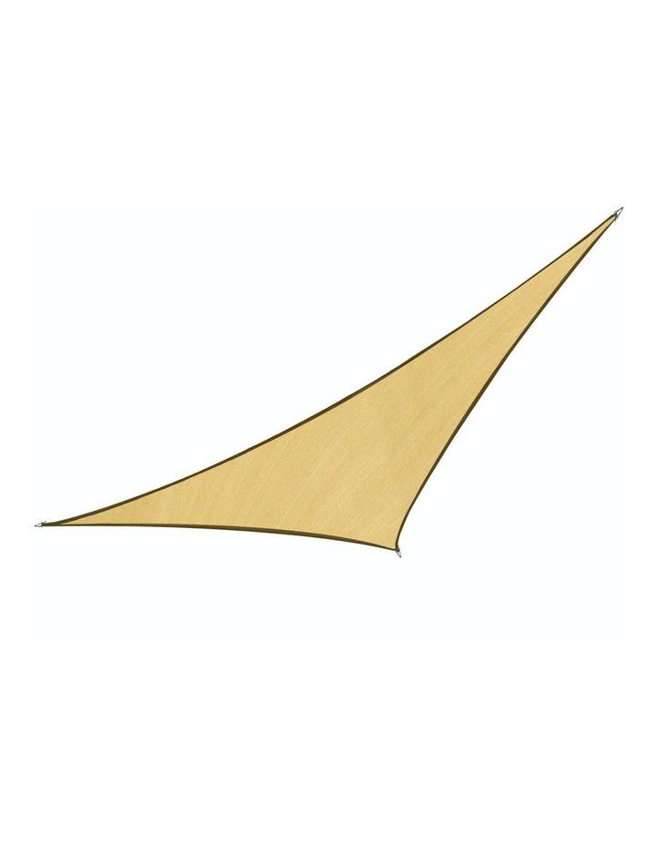 Triangle Shade Sail 7x7x7 - Sand image 1