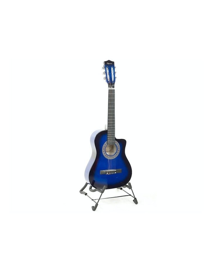 Blue Childrens Acoustic Guitar Ideal Kids Gift 1/2 Size image 1