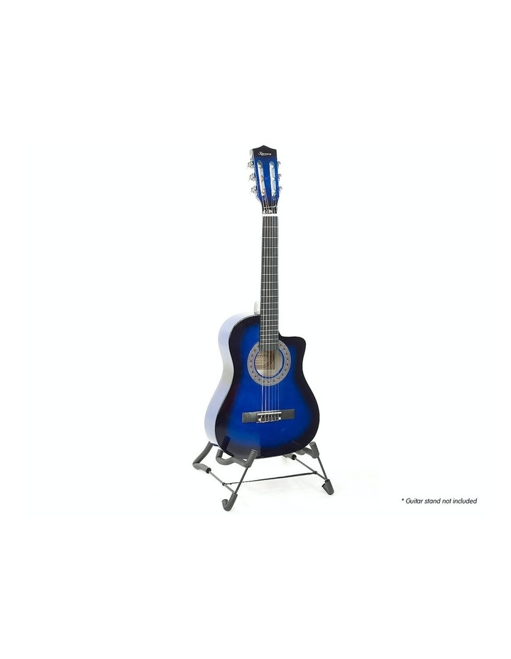 Blue Childrens Acoustic Guitar Ideal Kids Gift 1/2 Size image 2