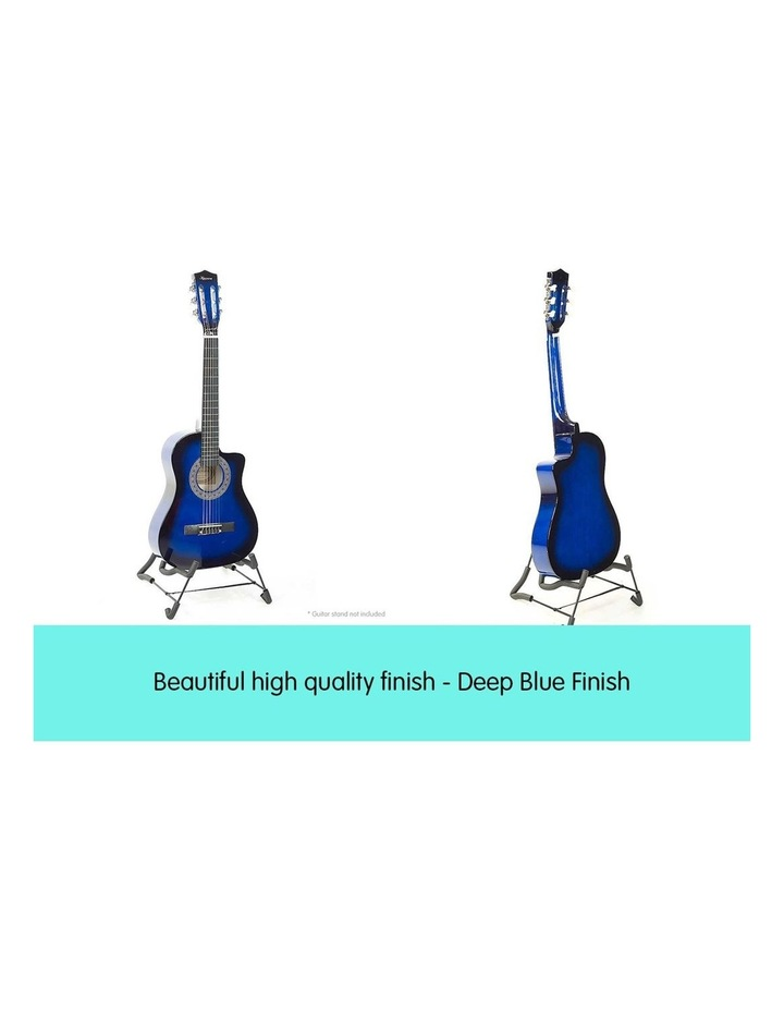 Blue Childrens Acoustic Guitar Ideal Kids Gift 1/2 Size image 4