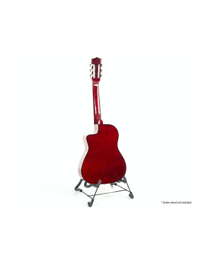 Childrens Acoustic Cutaway  Wooden Guitar Ideal Kids Gift 1/2 Size Natural image 3