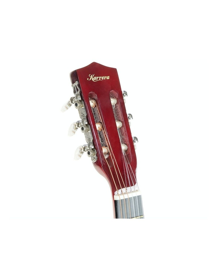 Childrens Acoustic Cutaway  Wooden Guitar Ideal Kids Gift 1/2 Size Natural image 5