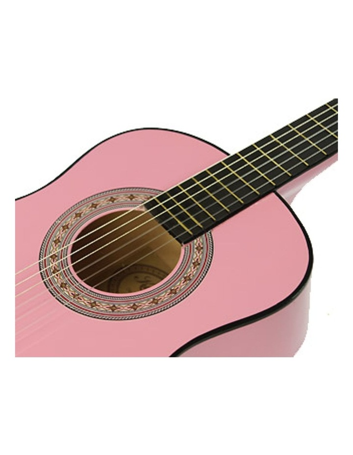 Pink Childrens Acoustic Guitar Ideal Kids Gift 1/2 Size image 3