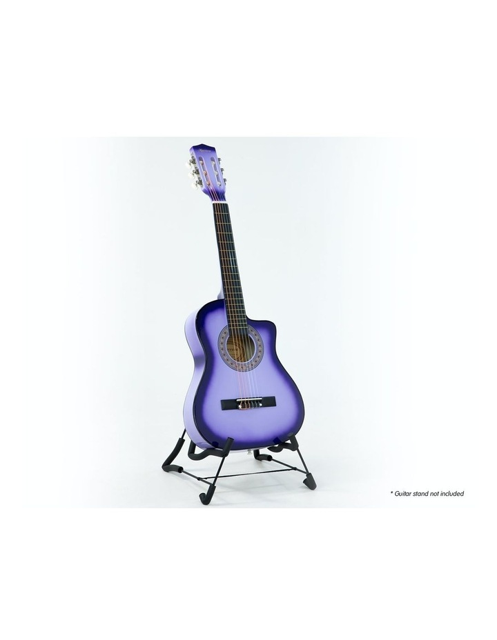 Purple Childrens Acoustic Guitar Ideal Kids Gift 1/2 Size image 1