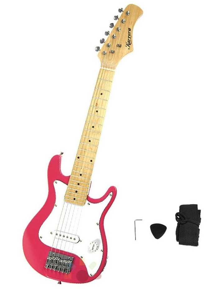 Kids Electric Guitar And Ideal Childrens Gift Junior - Pink image 1