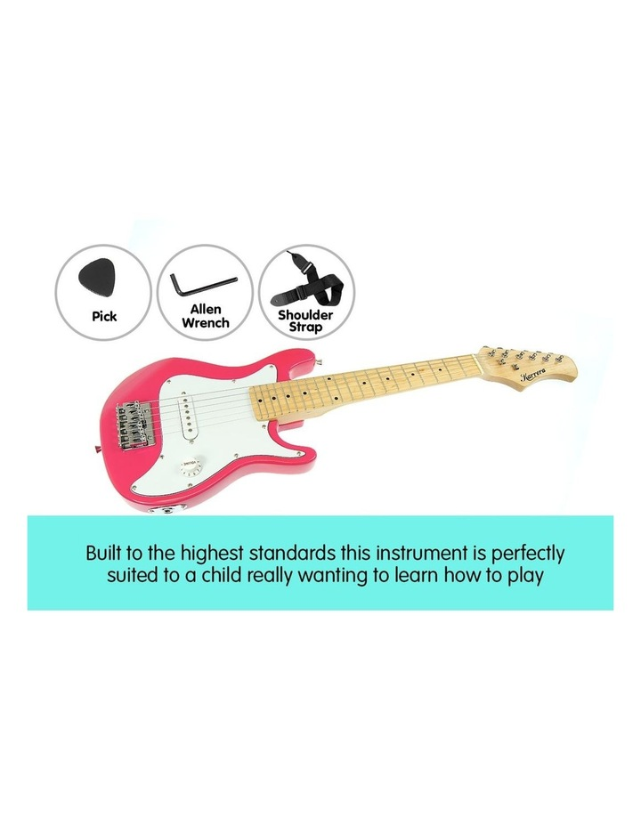 Kids Electric Guitar And Ideal Childrens Gift Junior - Pink image 4