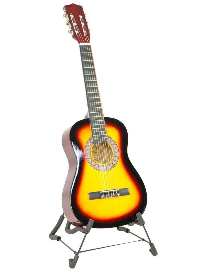 Childrens Acoustic Guitar Ideal Kids Gift 34in Sunburst Picks Bag image 1