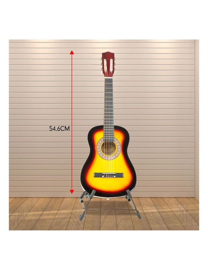 Childrens Acoustic Guitar Ideal Kids Gift 34in Sunburst Picks Bag image 5
