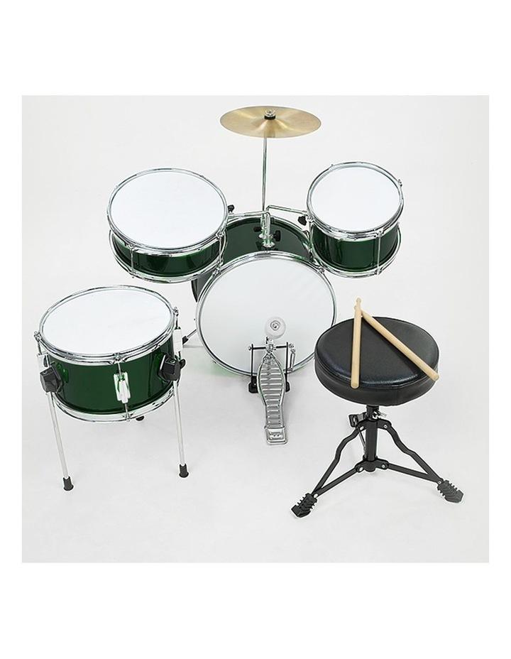 Childrens 4 Piece Diamond Drum Kit Set Musical Instrument Kids Percussion image 3