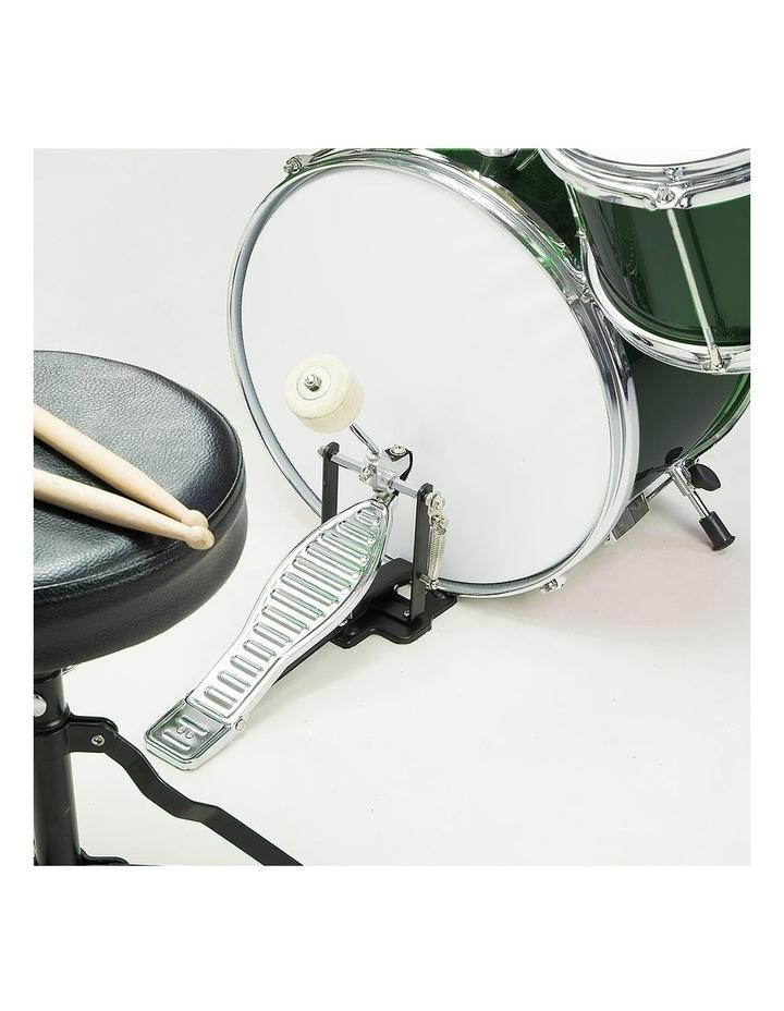 Childrens 4 Piece Diamond Drum Kit Set Musical Instrument Kids Percussion image 4