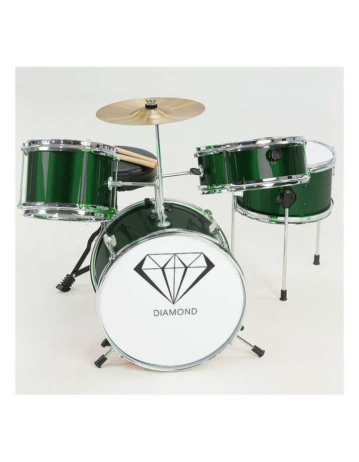 Childrens 4 Piece Diamond Drum Kit Set Musical Instrument Kids Percussion image 5