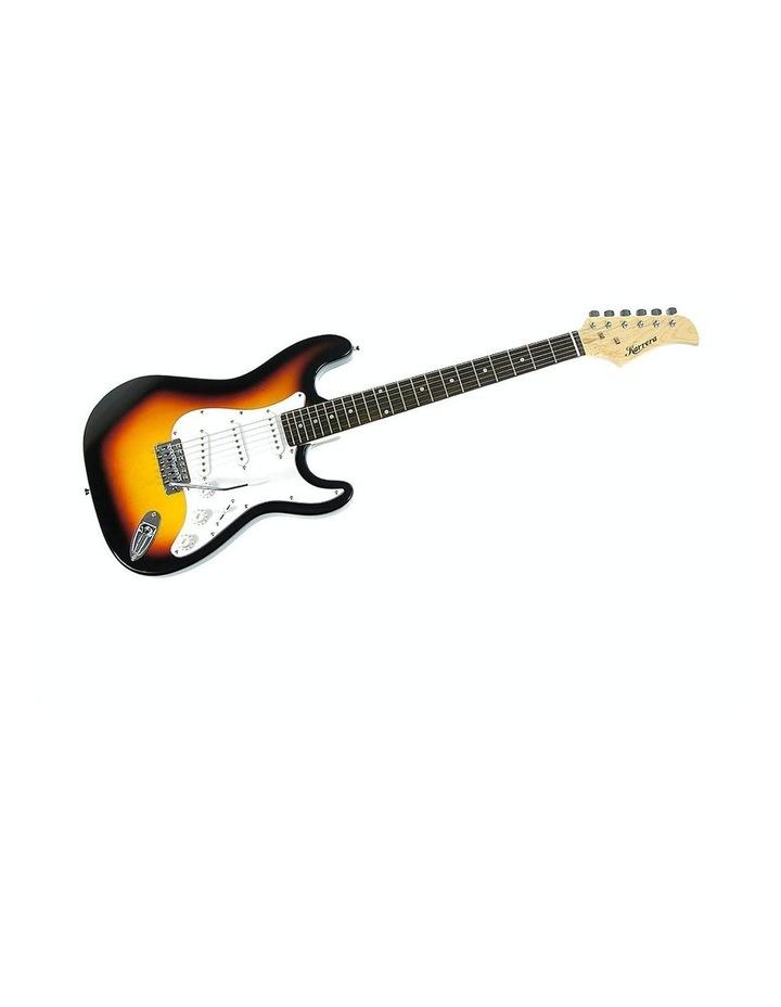 Sunburst Electric Guitar Music String Instrument Bass image 1